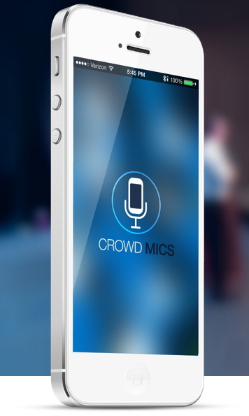 Crowd Mics App