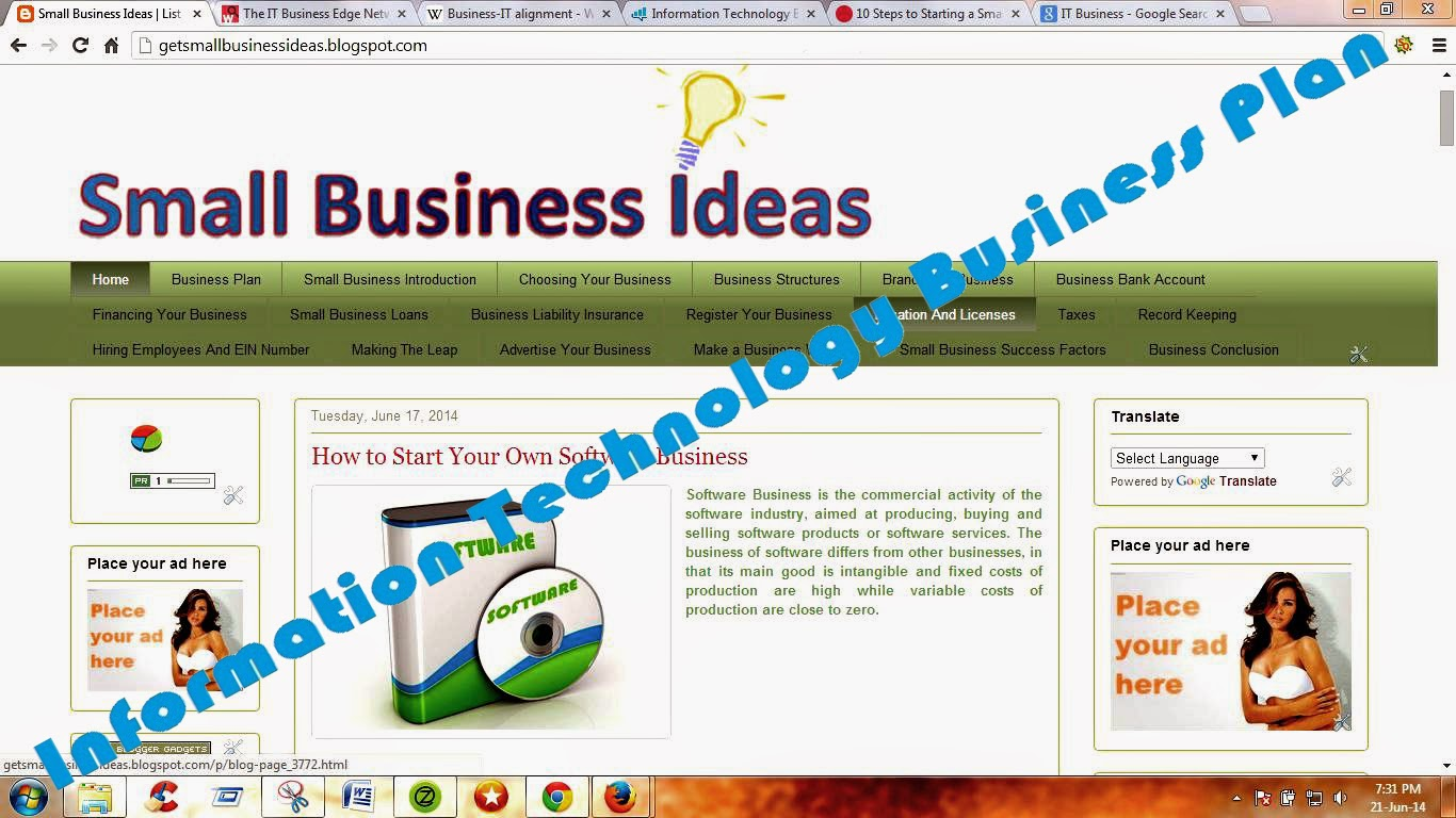 Information Technology Business