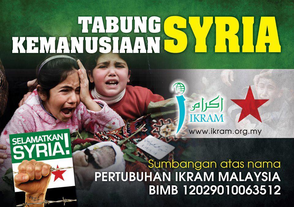 Klik untuk Tabung Kemanusiaan Syria