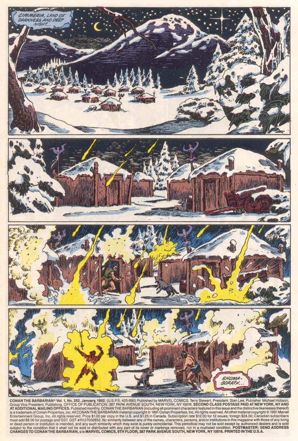 Conan the Barbarian (1970) Issue #252 #264 - English 2