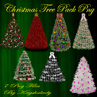 Christmas tree PNG tubes