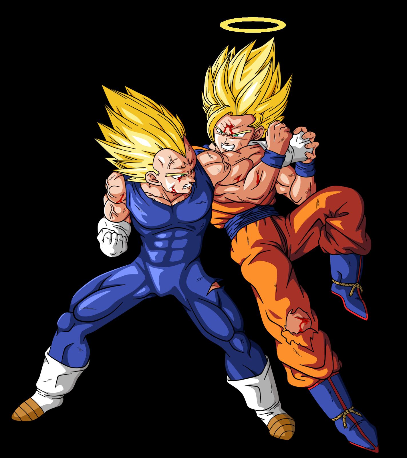 Goku y vegeta goku y vegeta - Dbz goku vegeta ...