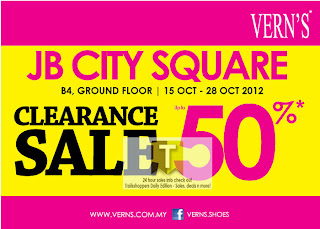 VERN'S Clearance Sale Johor 2012