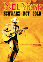 Neil Young schwarz rot gold