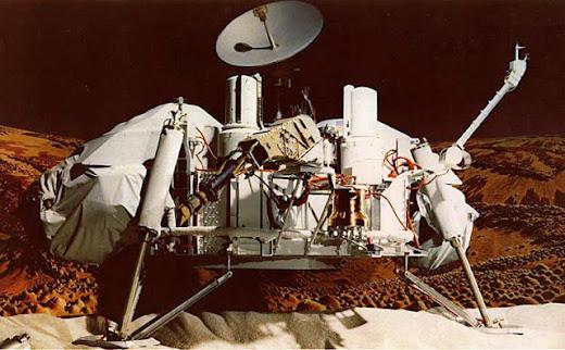 Vikingo descubrio vida en Marte - Gilbert Levin