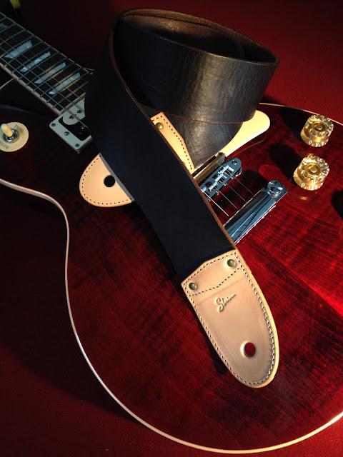革 ストラップ ギター レザー