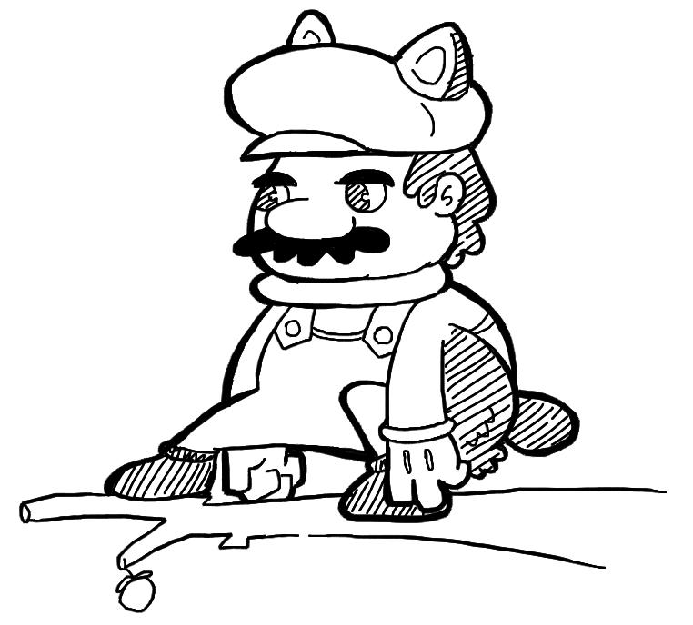 Squirrel Suit Mario Drew Squirrel Mario Today