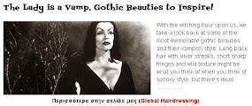 The Lady is a Vamp. Gothic Beauties to Inspire!