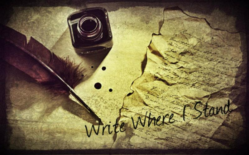 Write Where I Stand