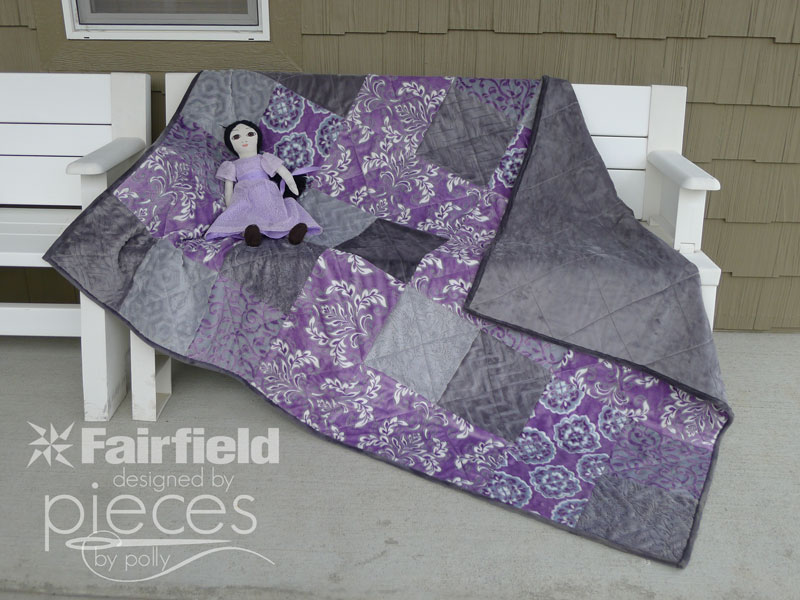 Pieces by Polly: Violeta Cuddle Quilt-in-a-Day Free Pattern ... : quilt in a day free patterns - Adamdwight.com