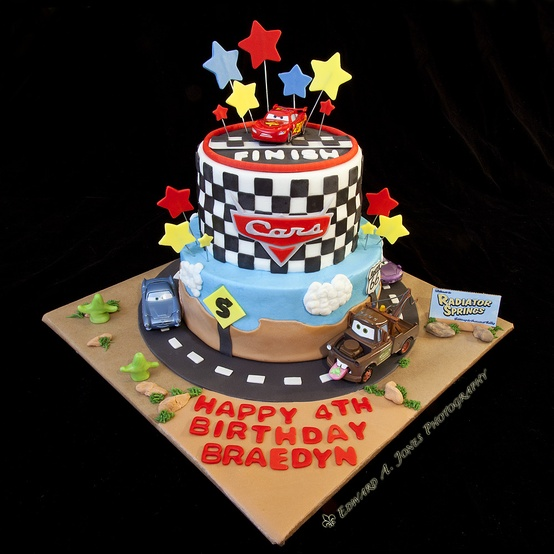 Cake Design Cars Theme : 52 Week Pinterest Challenge: Cars themed Cake