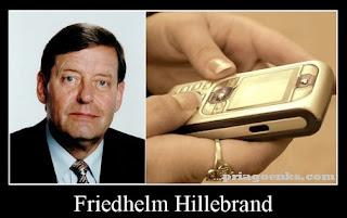 Friedhelm Hillebrand pencipta batasan karakter 160 SMS