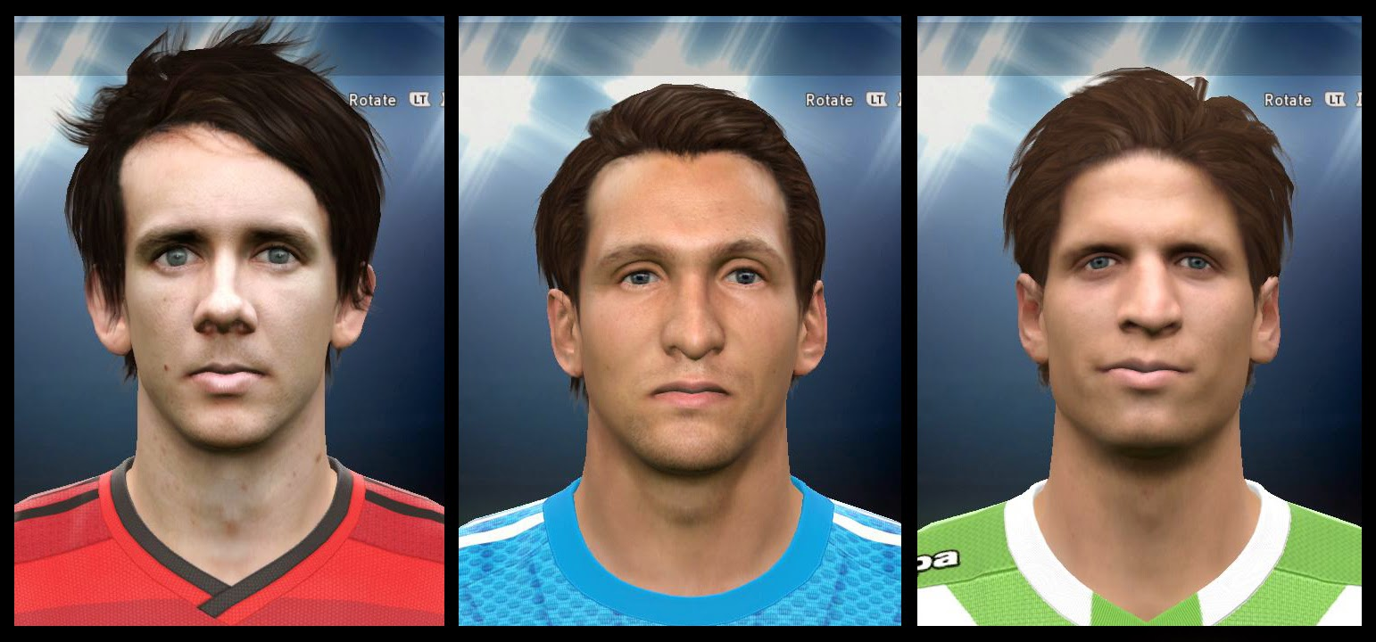 PES 2015 Bundesliga Facepack 1 by AMussoullini