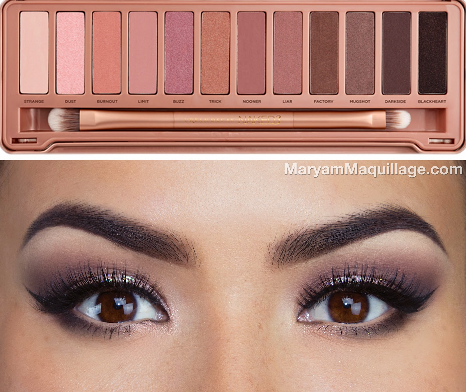 "Favori Maryam Maquillage: ""Prom Perfect"" VIDEO TUTORIAL with NAKED 3 GX25"