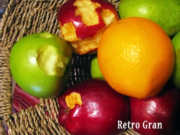 Retro Gran's Fall Decorations