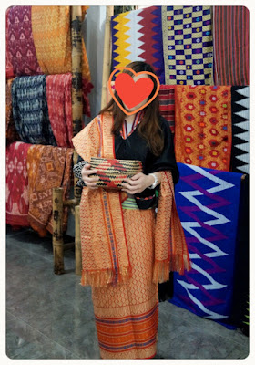 Songket Traditional Cloth Sukarara Village Lombok