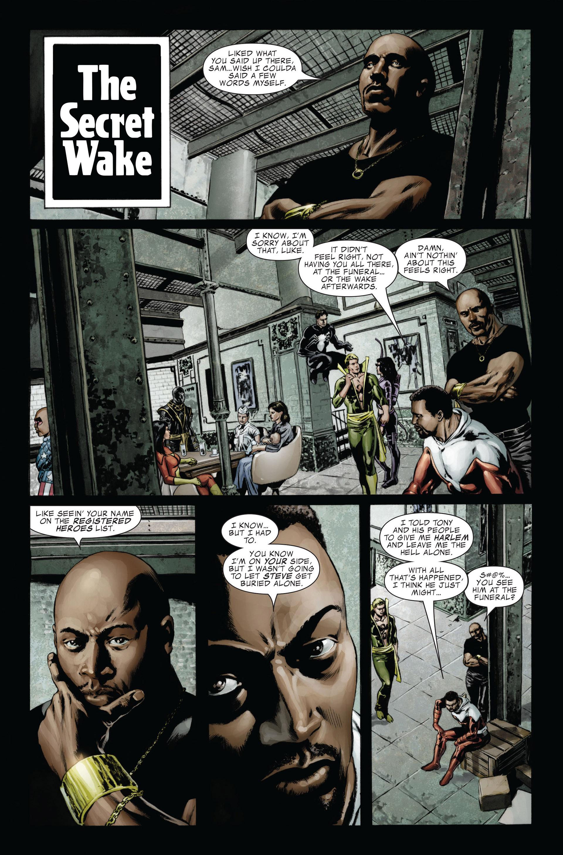 Captain America (2005) Issue #26 #26 - English 16
