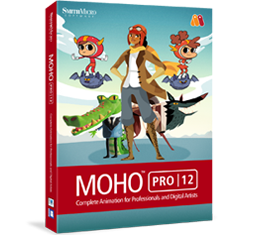 Moho Pro 12 (formerly Anime Studio)