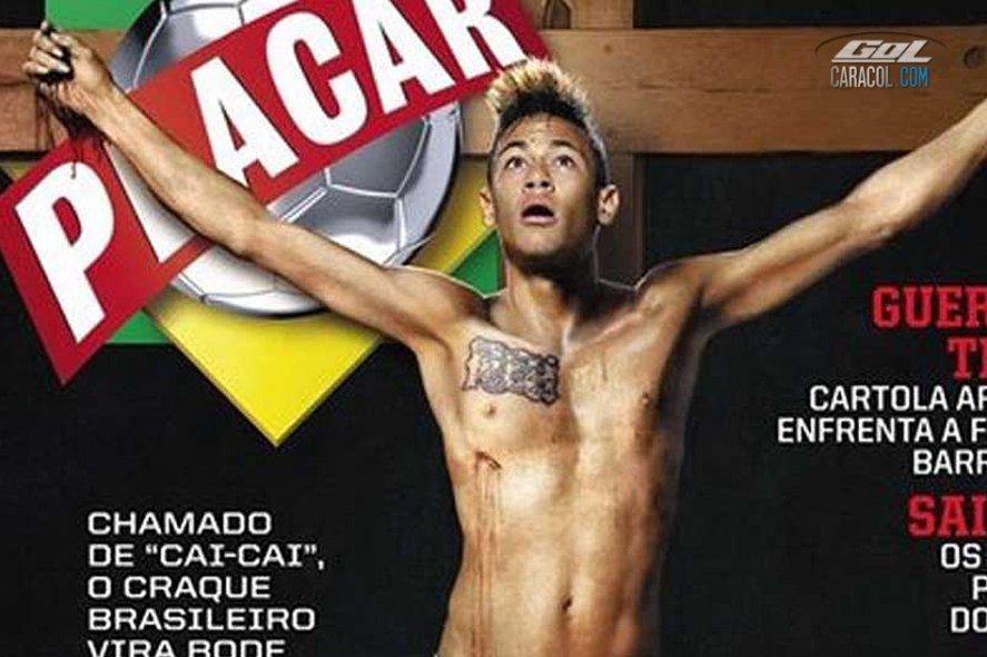 ¡La crucifixión de Neymar!