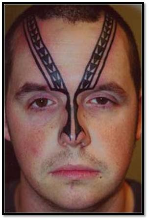 Trend tattoo styles face tattoos for Tattoo of ice cream cone on face