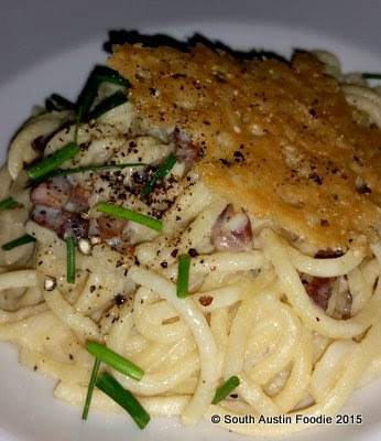 Juliet Restaurant Austin -- carbonara with guanciale