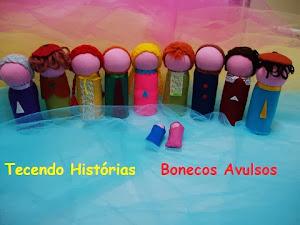 Bonecos Avulsos - Monte seu TEATRO  ou sua FAMÍLIA !