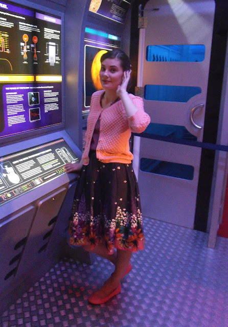 space cadet at leicester space centre via lovebirds vintage