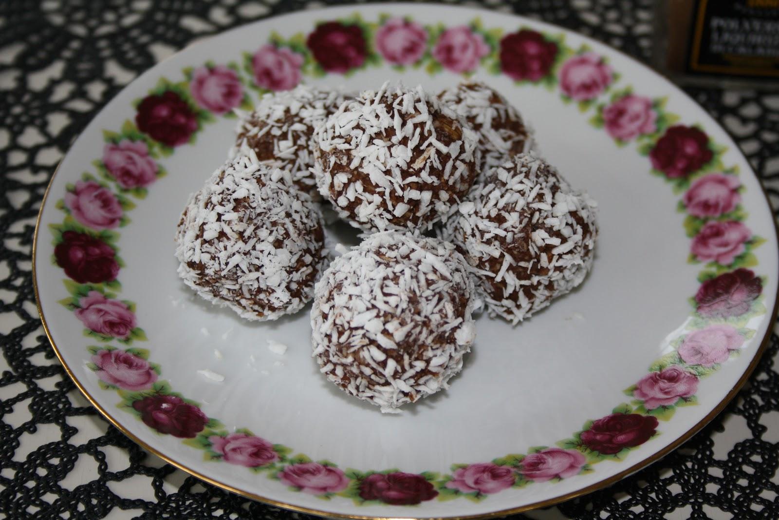 chokladbollar med lakrits