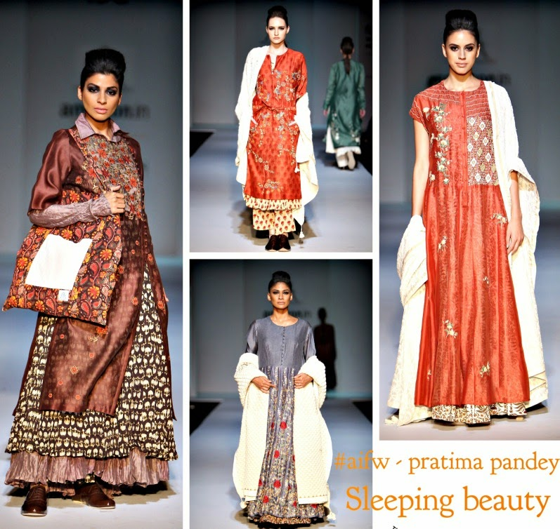 Indian wedding wear, designer Pratima pandey, amazon fashion week