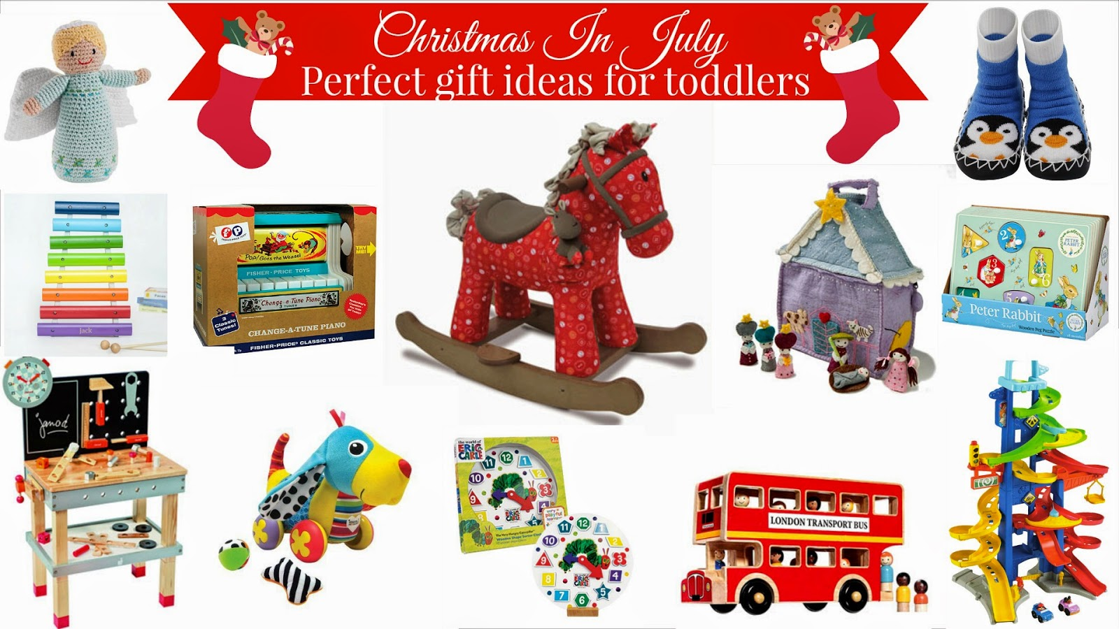 Christmas In July - Perfect Gift Ideas For Toddlers ♥ | Dolly Dowsie