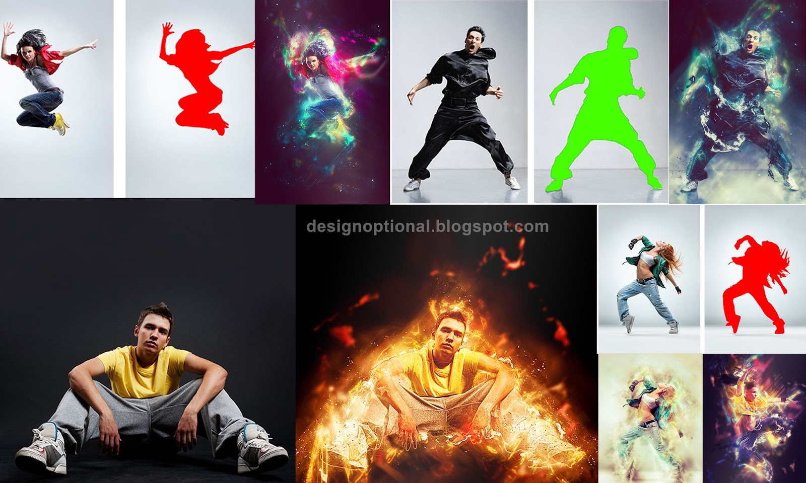 60 Super Photoshop actions free download By DG photoshop