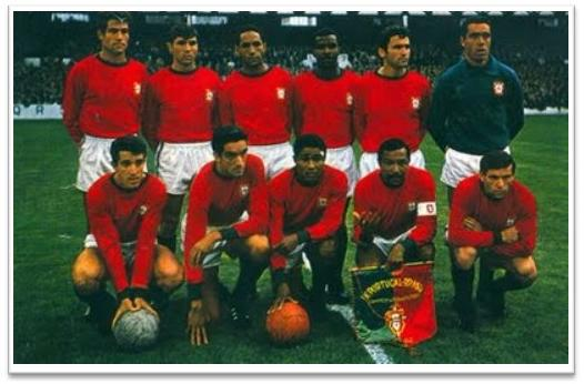 Football Legends 1966 FIFA World Cup Portugal Team Squad