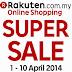 SALE! Shoppping Spree at Rakuten