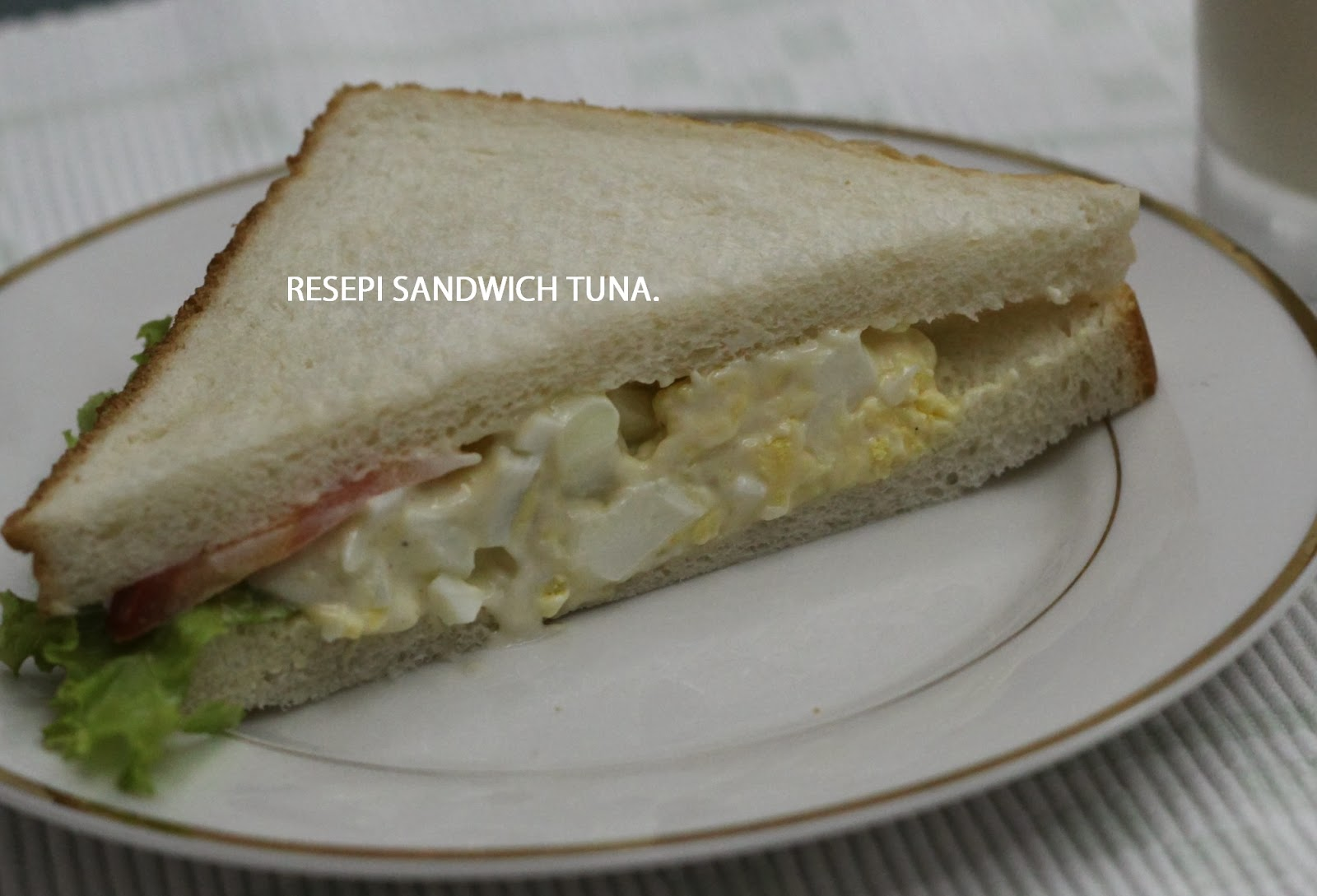 Resepi, Sandwich Tuna