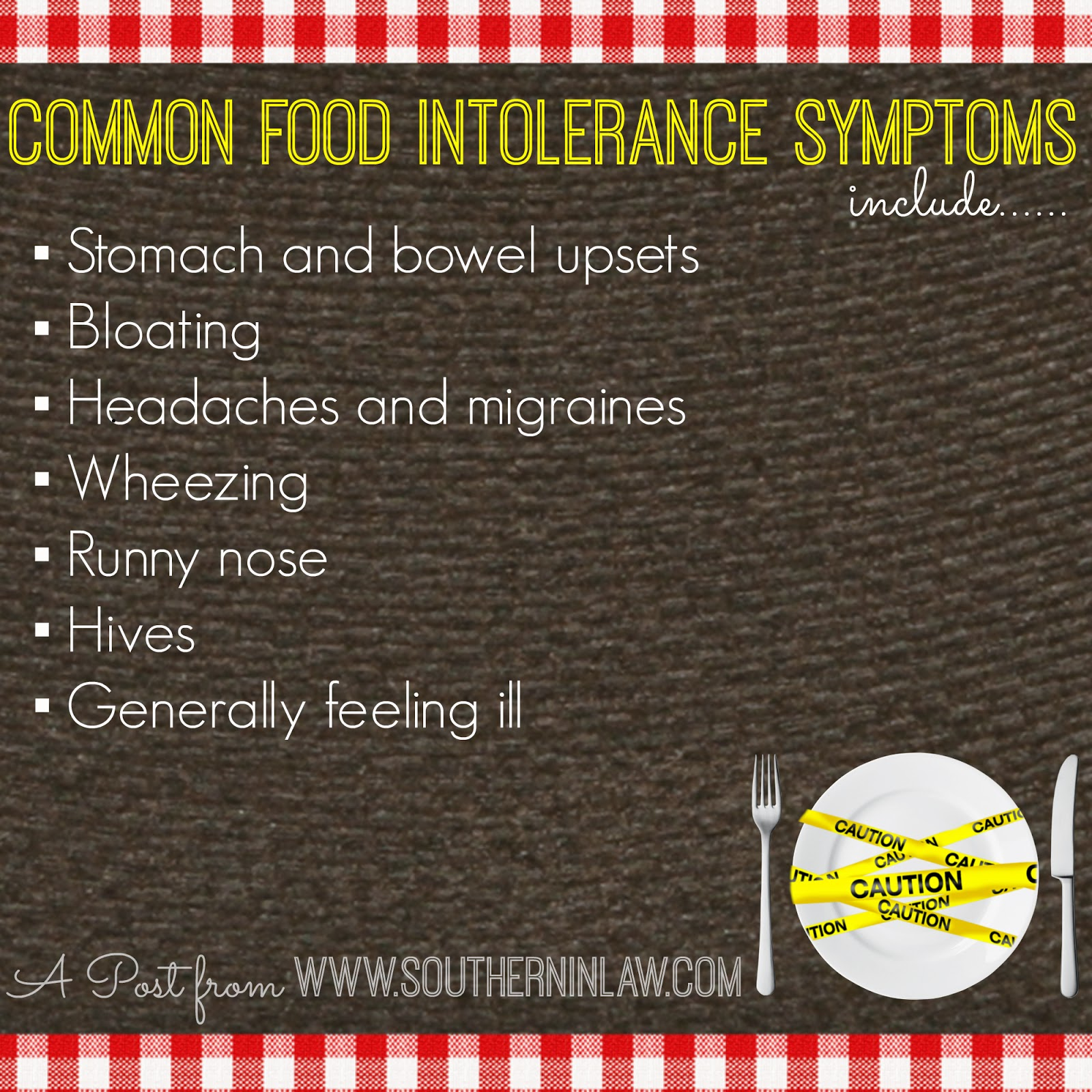 Common food intolerance symptoms - Do I have a food intolerance? - The difference between food allergies and intolerances