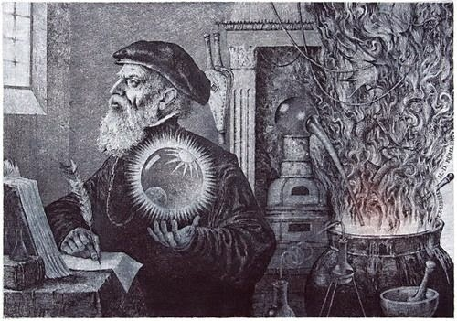 The Alchemist by Konstantin Kalinovich
