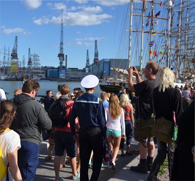 helsinki 2013 tall ships races sailor