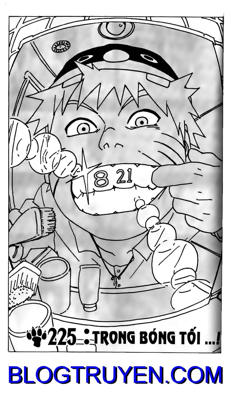 Naruto chap 225 Trang 1 - Mangak.info