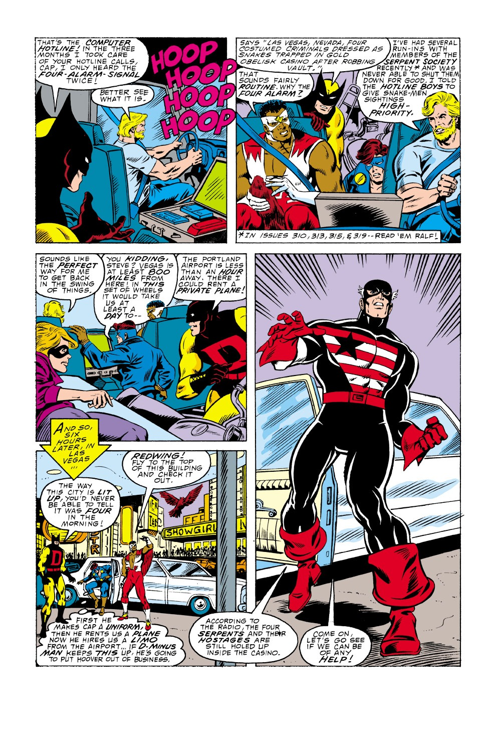 Captain America (1968) Issue #337 #266 - English 17