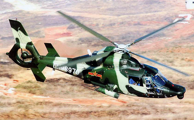 WZ-9 Anti Armor Attack Helicopter