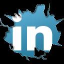 Download Icon Sosial Media Bentuk Pecahan Gratis