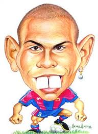 tu blog de lengua caricatura de ronaldo