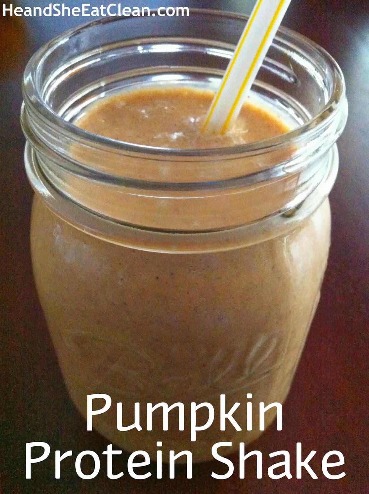 Pumpkin-Protein Smoothie Recipe — Dishmaps