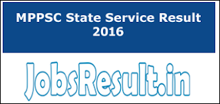 MPPSC State Service Result 2016