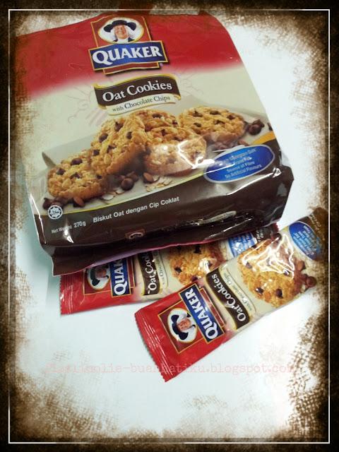 Oat Cookies Quakers terbaru,