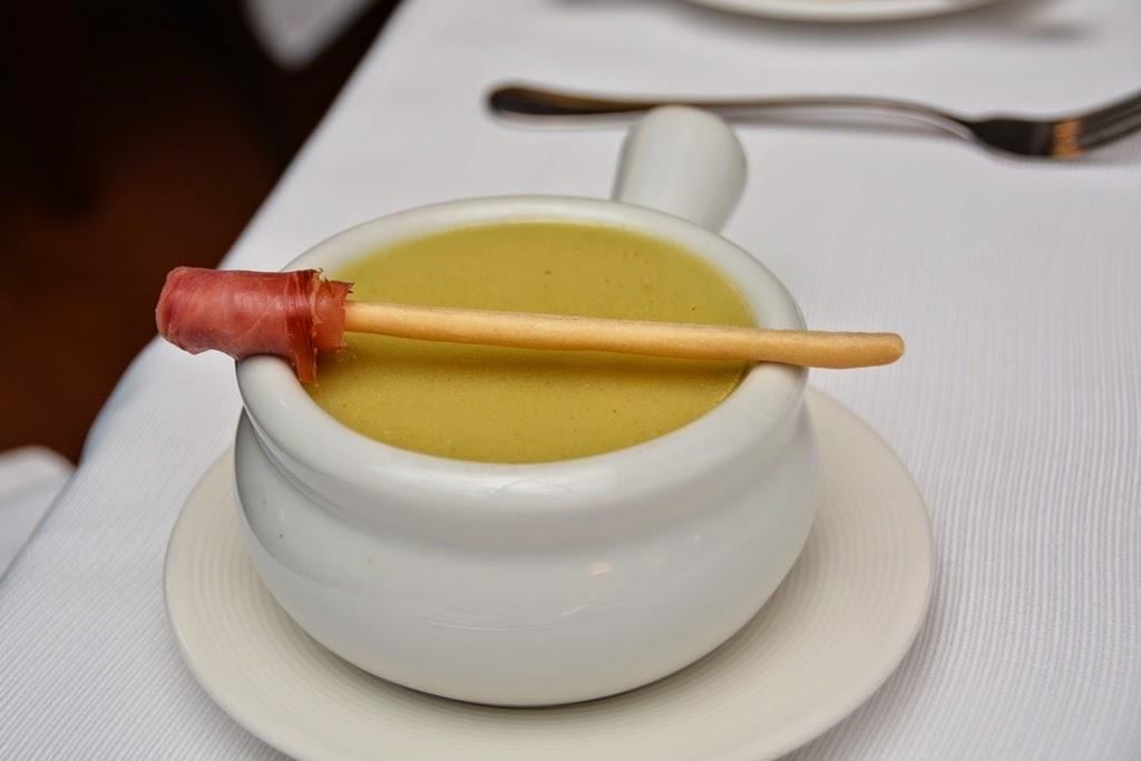Restaurant El Mirador Cusco soup