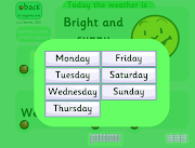 ROUTINES: WEATHER & DATE