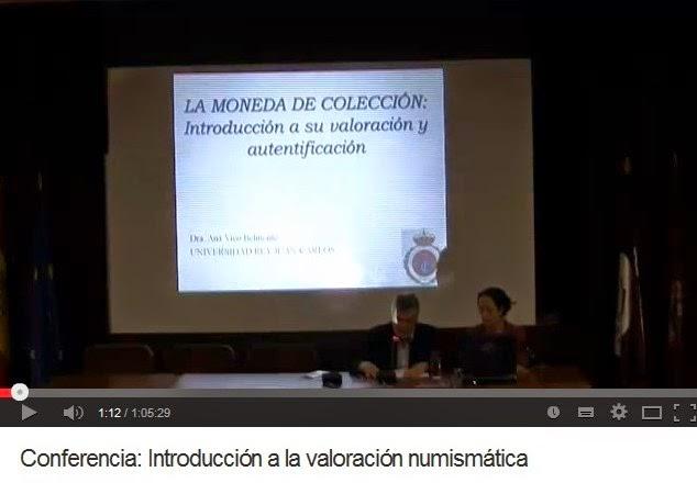 INTRODUCCIÓN A LA VALORACIÓN NUMISMÁTICA (ANA VICO BELMONTE)