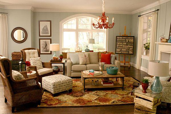 Fotos de sala acogedora ideas para decorar dise ar y for Decoracion hogar acogedor