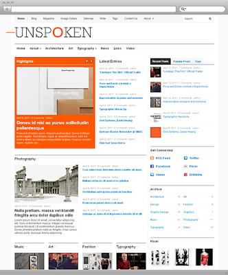 Unspoken Premium WordPress Theme